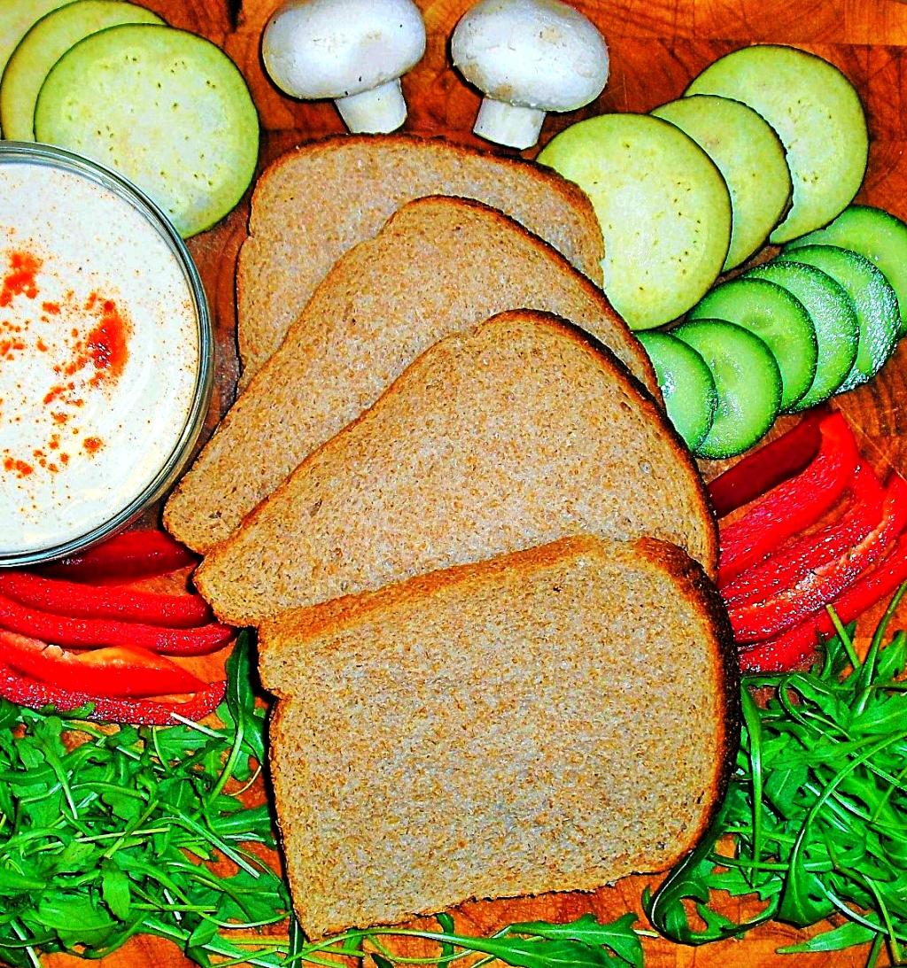 rucola sandwich mit gegrilltem gem se by veganolo food magazin. Black Bedroom Furniture Sets. Home Design Ideas