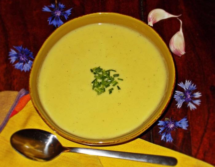Lauch Kartoffelcreme Suppe