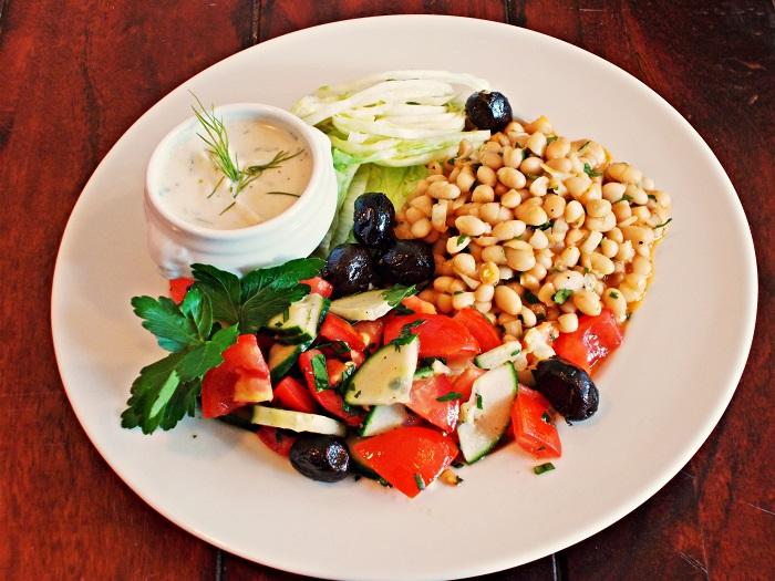 Türkische Salatplatte